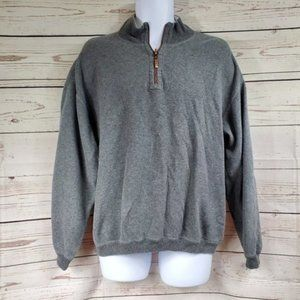 TOMMY BAHAMA half zip thick pullover sweater L